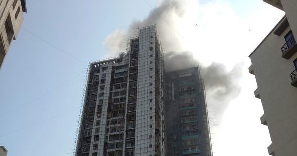 Mumbai: Fire breaks out in Thane's Giriraj Heights, over 150 rescued