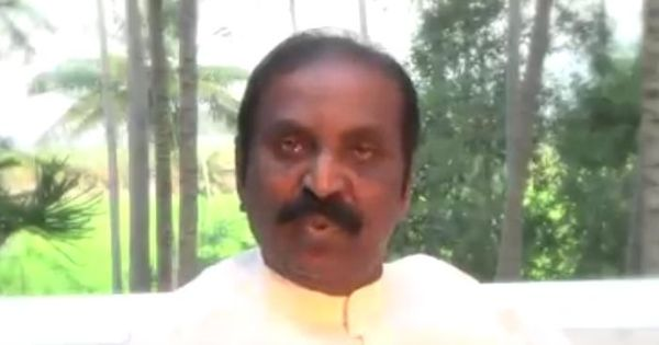 Watch: Tamil poet Vairamuthu explains his speech on Andal, 'the liberated voice' of women
