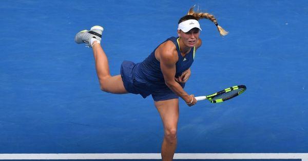 Australian Open women's roundup: Suarez Navarro rallies, Wozniacki cruises  into quarters