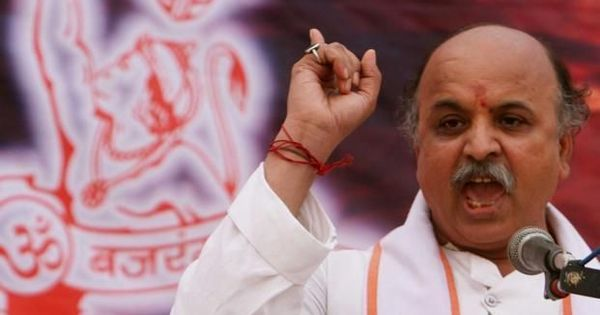 Praveen Togadia ends fast, says he will now travel across India to 'revive Hindutva politics'