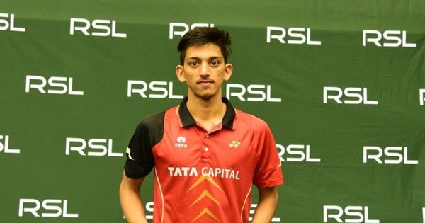 Playing his first career final, Siddharth Pratap Singh bags Swedish Open badminton title