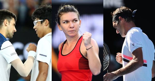 Aus Open Day 8 highlights: Djokovic out, Federer left hanging my Mirka, Halep can't sleep