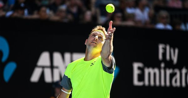 22 days back, Tennys Sandgren's 2018 tennis journey began in India but it has already hit new highs
