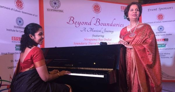 Singing a different tune: After four decades in diplomacy, Nirupama Rao has released a music album