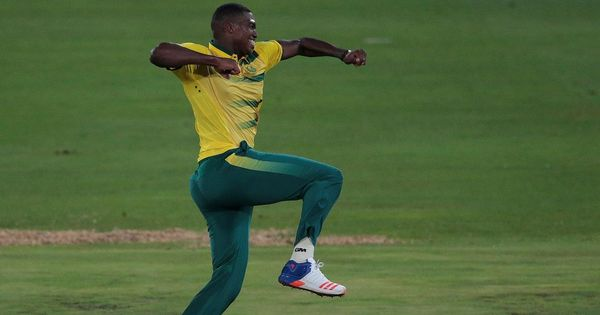 Chris Morris, Lungi Ngidi lead South Africa to 21-run win over Australia in rain-hit T20I