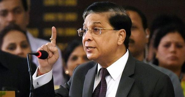 Opposition parties to discuss impeachment motion against CJI Dipak Misra today: Reports