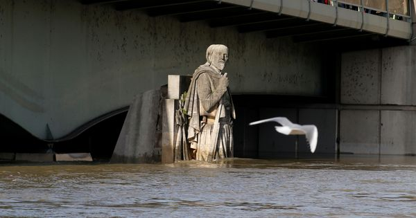 In photos: Paris on high alert as the Seine river continues to swell