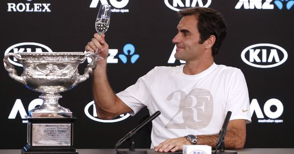 Full text: After Australian Open triumph, Federer credits wife Mirka for keeping him going