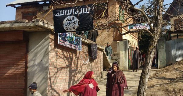 Black flag sparked army anger, say residents of Kashmir village where two civilians were killed