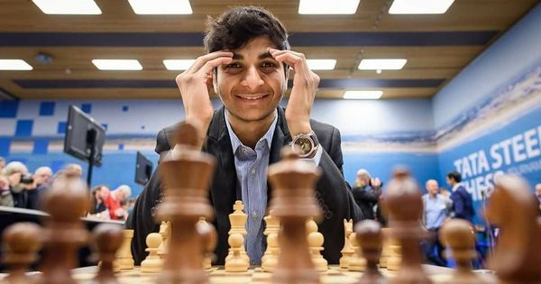 Vidit Gujrathi wins the Tata Steel Chess Challengers, qualifies for Tata Steel Masters