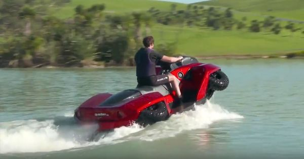 Watch: These amphibious vehicles look like they are straight out of a James Bond movie