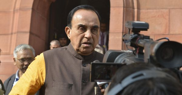 BJP MP Subramanian Swamy withdraws bill to ban cow slaughter after Centre intervenes in Rajya Sabha