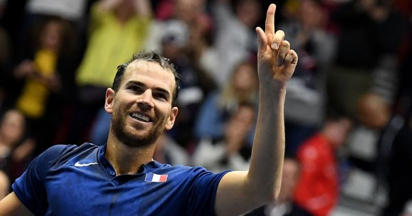 Davis Cup: Mannarino battles past Haase in five sets to put France in quarter-finals