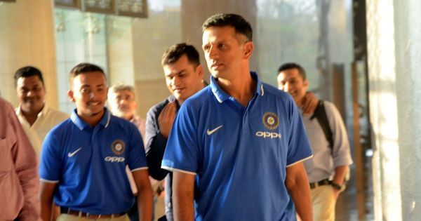 Dravid takes a pay cut so that the rest support staff of U-19 W'Cup winning team gets more