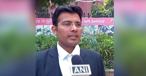 Meet Prashant P Umrao, the lawyer against whom Rajdeep Sardesai has filed a police complaint
