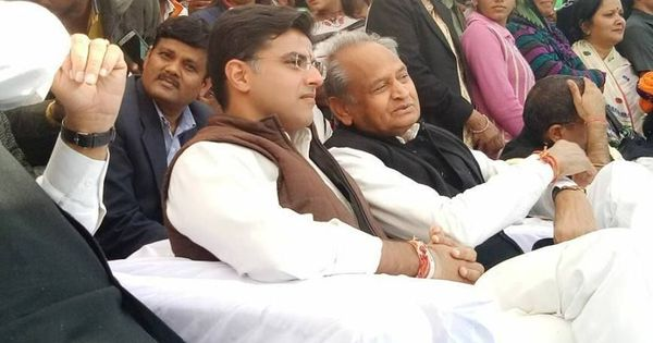Rajasthan: Congress leaders Ashok Gehlot, Sachin Pilot to contest elections amid rumours of a divide