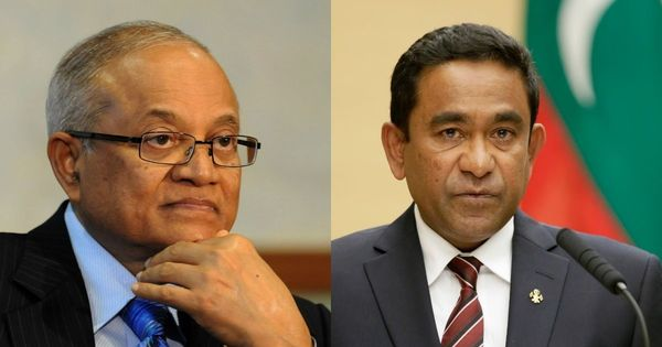 Maldives charges former President Maumoon Gayoom and two Supreme Court judges with terrorism