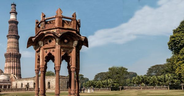 Video: When the Qutub Minar was once crowned by a Hindu-style cupola designed by an Englishman