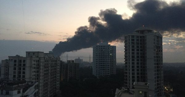 Mumbai: Fire breaks out near Mankhurd scrapyard, brought under control