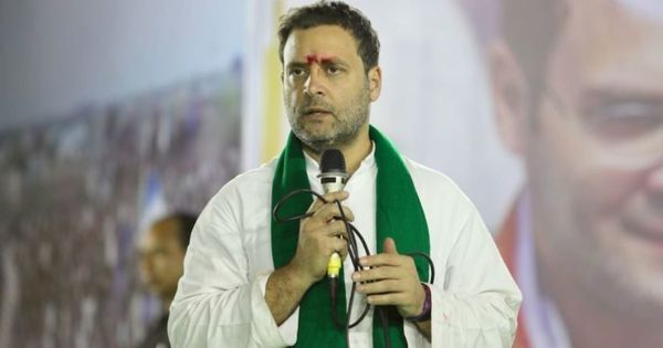 Madhya Pradesh: BJP and Congress trade charges over posters calling Rahul Gandhi a 'Shiva bhakt'