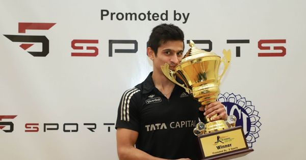 Indian Squash Open: Saurav Ghosal rallies to beat Mueller for second title in four months