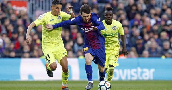 For the first time this season, Barcelona fail to score in La Liga