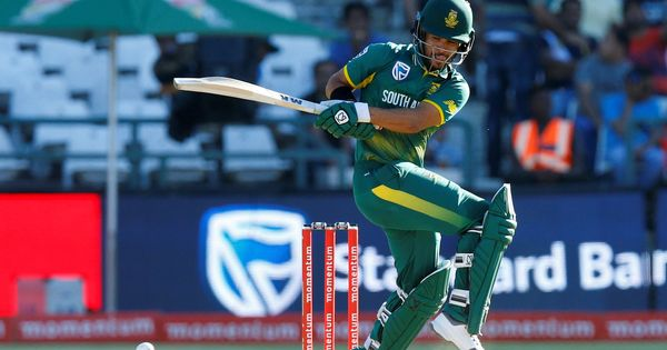 JP Duminy to miss South Africa's limited overs tour of Australia due to shoulder injury