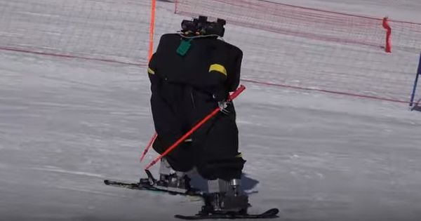 Watch: These robots had their own skiing tournament alongside the Winter Olympics
