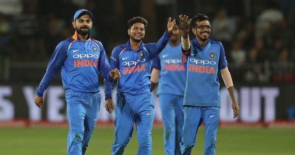 दक्षिण अफ्रीका के खिलाफ वनडे सीरीज में कुलदीप और चहल ने मिलकर कुल 33 खिलाड़ियों को आउट किया   फोटो : बीसीसीआई / स्पोर्टसपिक्स