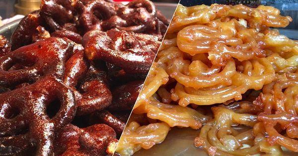 Video: In Old Delhi, 'black' jalebis that taste like gulab jamuns are all the rage
