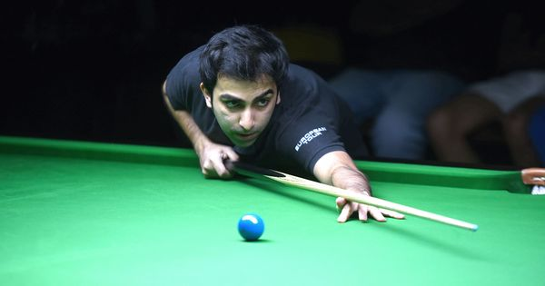 Pankaj Advani defeats Ehsan Heydari Nezhad to win inaugural Asian Snooker Tour title