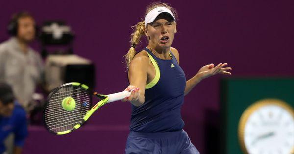 Qatar Open: Wozniacki complains about Niculescu's grunts, but beats her to set up Kerber clash