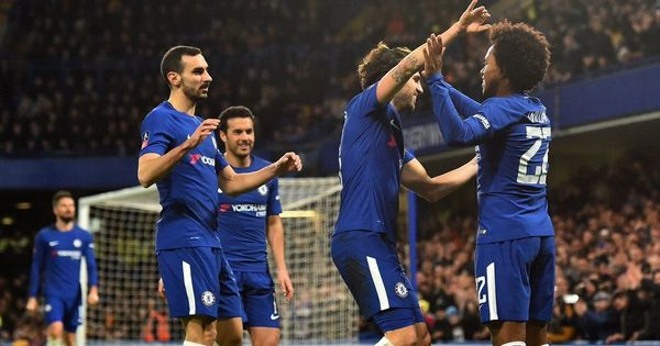 Chelsea reach FA Cup quarter-finals with thumping 4-0 win against Hull City