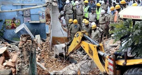 Bengaluru building collapse: Toll rises to five, police arrest co-owner and civic body official