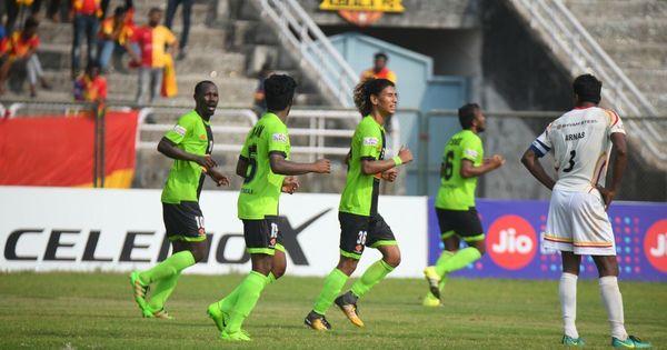 I-League: East Bengal's title hopes dealt heavy blow as Gokulam get a 2-1 victory