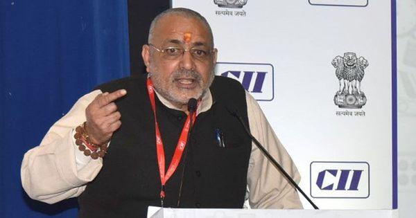 पकौड़ा बेचने वाले भी रोजगार सृजन चक्र का हिस्सा हैं : गिरिराज सिंह