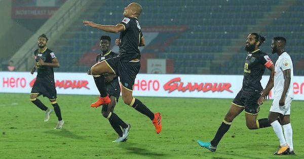 Wes Brown's first ISL goal helps Kerala Blasters beat NorthEast United