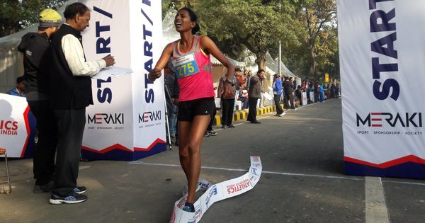 Soumya B breaks national record, pips Olympian Khushbir Kaur to 20 km walk national title