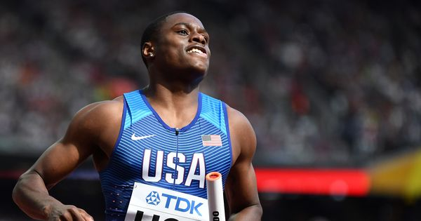 Christian Coleman runs 60m in 6.34s to set new world record at US Championships