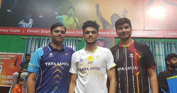 Anura Prabhudesai, Mithun M clinch All India Senior Ranking Badminton singles titles in Dehradun