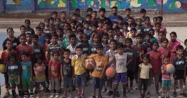 Watch: In 'Dribbling Dreams', rural kids score the slam dunk of their lives