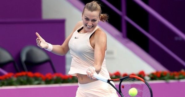 After back-to-back titles, Petra Kvitova withdraws from Dubai with leg injury