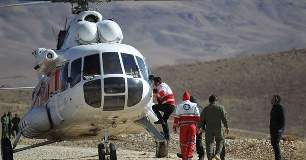 Iran finds wreckage of plane two days after it crashed into the mountains