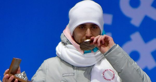 Russia admits curler Alexander Krushelnitsky tested positive for banned substance meldonium