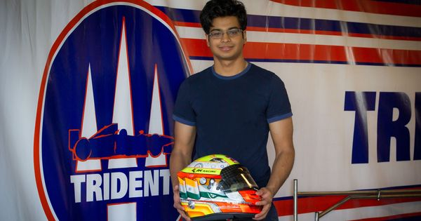 India's Arjun Maini signs up with Trident to race in the Formula 2 Championship