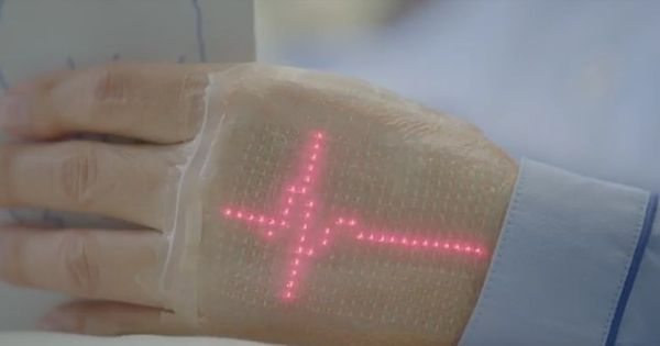 Watch: Japanese scientists have invented wearable electronic skin that can monitor your vital signs