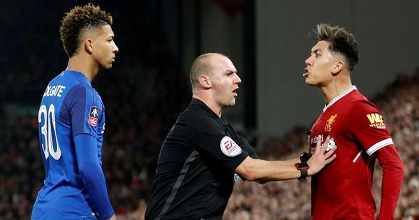 No FA action against Liverpool's Firmino over racism allegations towards Everton's Holgate
