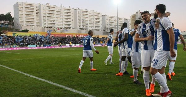 A game of one half: FC Porto complete win over Estoril – after a 37-day wait