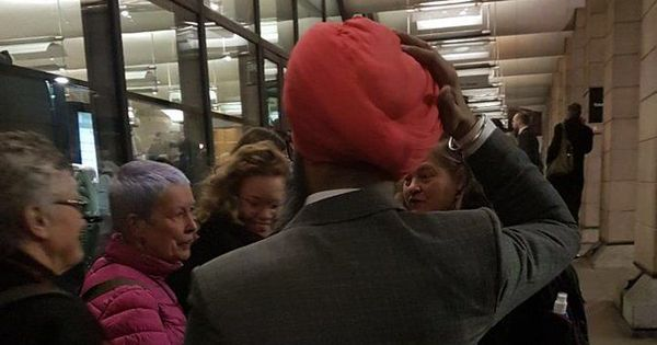 Sikh man assaulted outside UK Parliament