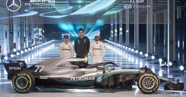 Give me a chainsaw I would take it off, says Mercedes chief as F1 W09 car with new halo is unveiled